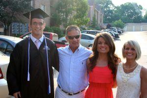 My Family on Amanda and Evan's graduation day.