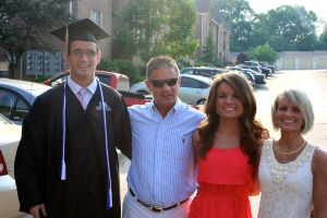 My Family on Amanda and Evan's graduation day.