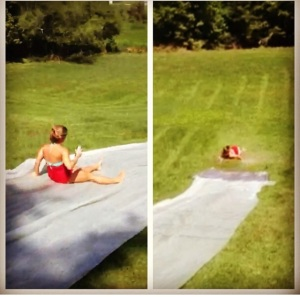Random slip n slide, no holiday, just a great FOMO choice except for my landing